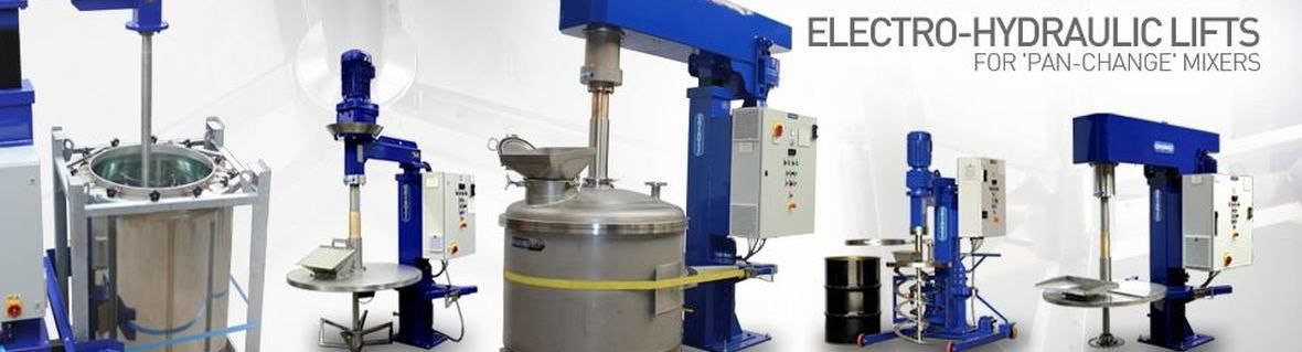 Propeller Mixers, High Shear Mixers and Dispensers