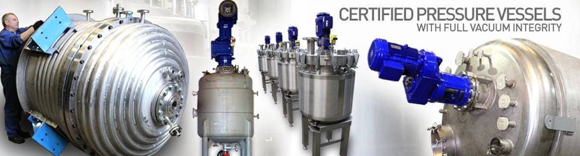 Certified Pressure Vessels with FV