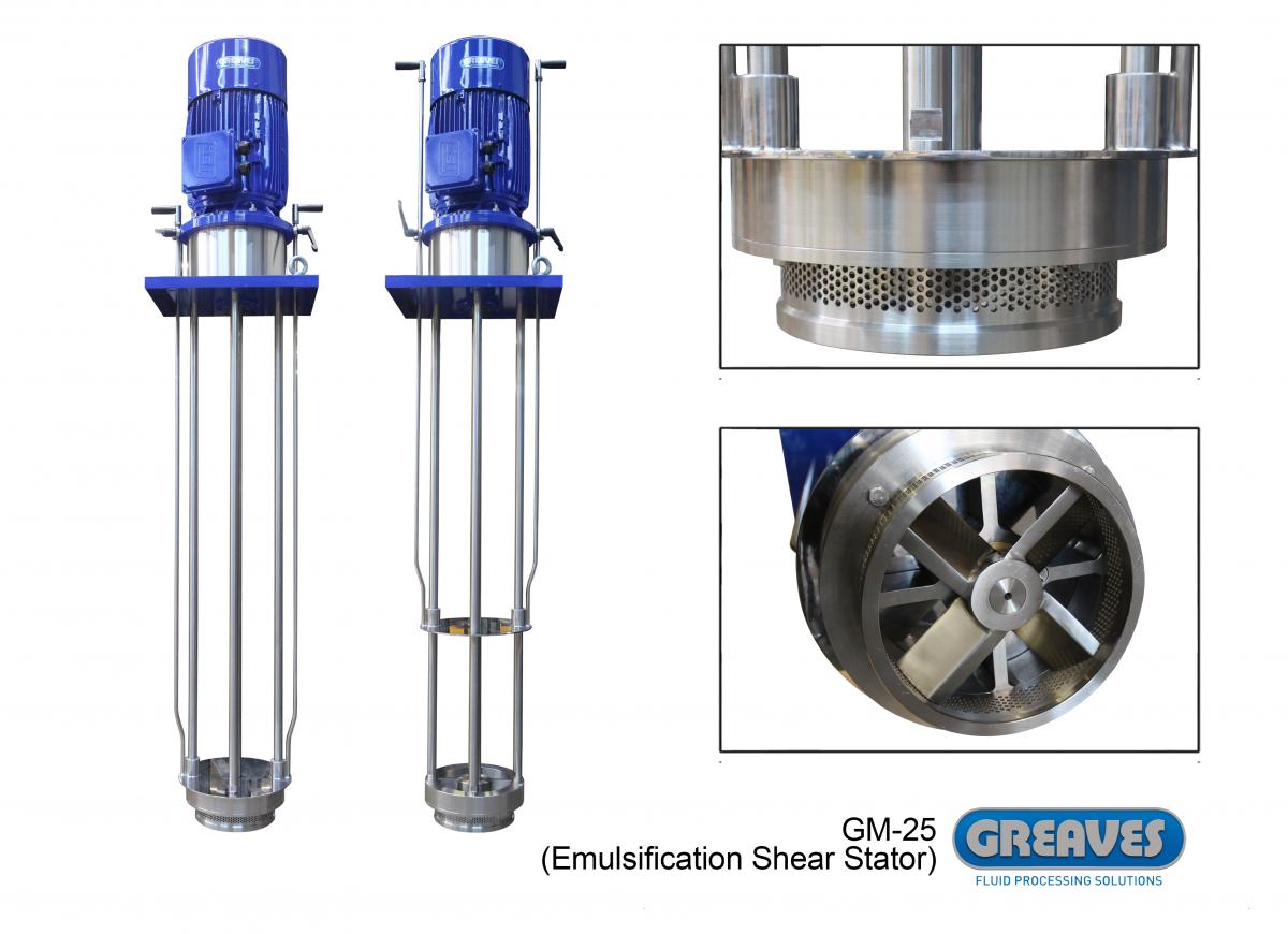 High Shear Mixers | High Shear Mixer, UK | Greaves