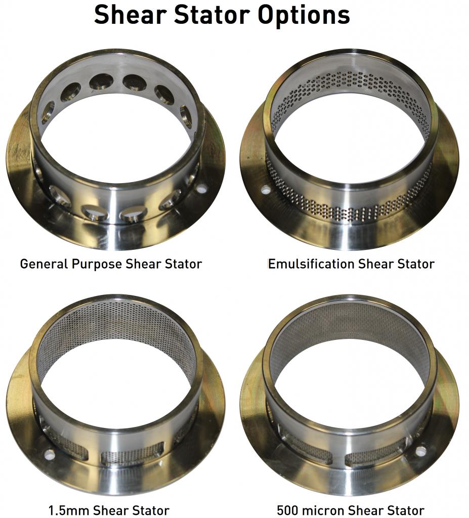 Shear Stator Options