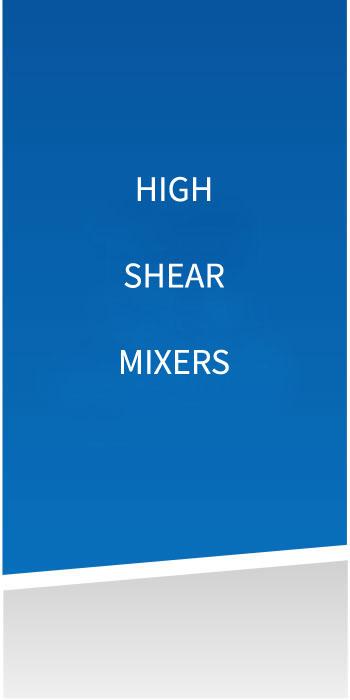 High Shear Mixers