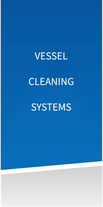 Vessel cleaning systems