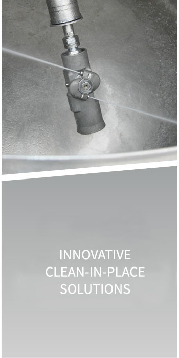 Innovative clean-in-place solutions