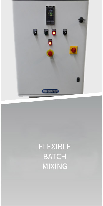 Flexible batch mixing