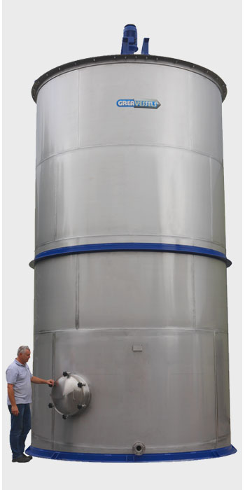 High Volume Storage & Blending Tanks 3